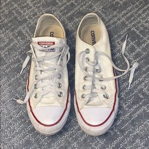 CONVERSE SIZE 8 WOMENS/SIZE 6 MENS
